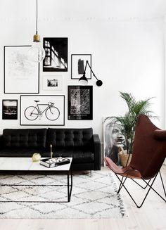 Schwarze Möbel
