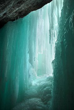 The 53 foot Minnehaha Falls is found at the Minnehaha creek's confluence with the Mississippi in Minnesota. This chilling shot was taken by Jason Rydquist.