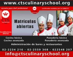 CTS Culinary Trainer School ESCUELAS DE PASTELERÍA EN QUITO Constituirse en una institución solida de alto nivel de referencia en el ámbito nacional como internacional y ser reconocida como ...