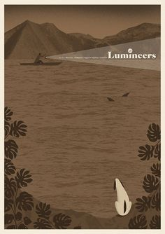 The Lumineers | Go Ahead | Palladium | Warszawa | gigposter 2016