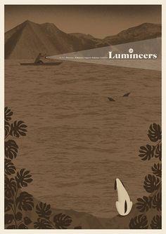 The Lumineers | Go Ahead | Palladium | Warszawa | gigposter 2016