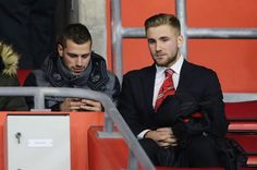 Schneiderlin was teammates with Luke Shaw at Southampton