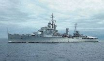 HMCS Minotaur, Colony-class cruiser, Royal Canadian Navy