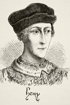 King Henry VI.is crowned 16/12/1431,king of france at Notre Dame