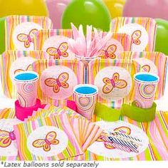 """""""Birthday in a Box"""" Butterfly set."""