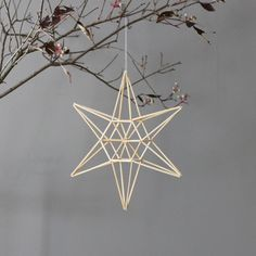 modern mobile natural star himmeli by AMradio on Etsy from HRUSKAA on Etsy. Saved to Holiday. Straw Crafts, Xmas Crafts, Christmas Star, Green Christmas, Christmas Ideas, Straw Decorations, Christmas Decorations, Straw Weaving, Geometric Star