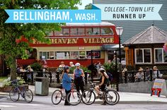 An hour south of Vancouver, Bellingham lies between the Puget Sound and Mt. Baker. It's home to Western Washington University's Academy for Lifelong Learning with classes, cultural programs and excursions. Homes are a bit pricey at a median $264,000 but there is no personal income tax.