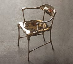 Bronze Age Chairs * Tjep Designblok Prague | Design Gallerist | Rare &…