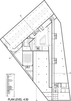 Image 86 of 92 from gallery of Museum of the Second World War / Studio Architektoniczne Kwadrat. Auditorium Architecture, Museum Architecture, Jewish Museum Berlin, Museum Plan, Back To Reality, River House, How To Level Ground, Contemporary Architecture, World War Two