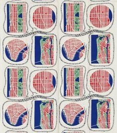 London's Fashion and Textile Museum is hosting the first UK exhibition dedicated to designer and artist Josef Frank, with textiles, furniture and waterco. Patterns In Nature, Textile Patterns, Print Patterns, Floral Patterns, Josef Frank, Frank Frank, Robert Frank, Edgar Degas, Patterned Furniture