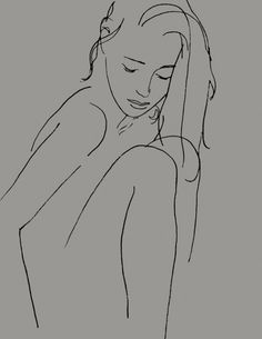 AB (Madelaine, Knees Drawn Up)