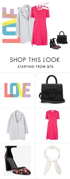 """""""Love"""" by freddarling ❤ liked on Polyvore featuring Native State, Maison Margiela, MANGO, Warehouse, White House Black Market and Chloé"""