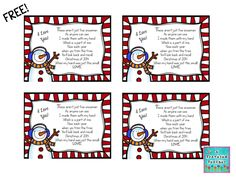 Free snowman tags for ornaments ~ A Traveled Teacher