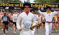 Rock N Roll Marathon, San Diego, CA. I did this in 2004