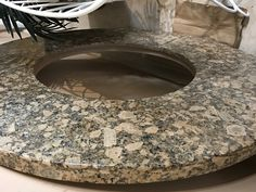 Granite top for our fire pit. Granite Tops, Fire Pit Table, Florida Home, Lanai, House, Home, Haus, Houses