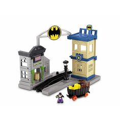 Fisher-Price GeoTrax DC Super Friends Deluxe Playset - Gotham City Fisher-Price