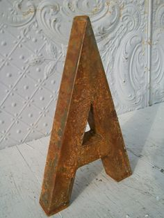 Lettering - Rustic Metal Alphabet Letters for Signs & Decorating - made to order