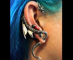 Dragon Wrap Earring | DudeIWantThat.