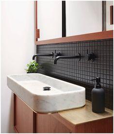 New Contemporary Bathroom Design Marble Ideas Big Bathrooms, Small Bathroom, Master Bathroom, Bathroom Marble, Bathroom Bath, Bath Shower, Contemporary Bathroom Designs, Modern Bathroom, Industrial Bathroom