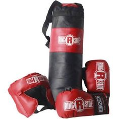 Ringside Kids Boxing Package, Red