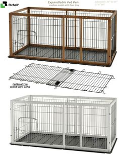 Diy Dog Crate Table Top - WoodWorking Projects & Plans