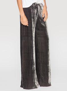 Cassi Velvet Pants Gravel