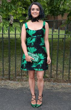 Maisie Williams at the Serpentine Gallery Summer Party 2016 held at Kensington Gardens in London on July 6, 2016