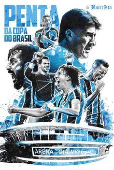 Grêmio - Penta da Copa do Brasil