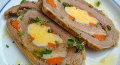Receta para Navidad: Matambrito de cerdo marinado con ensalada waldorf