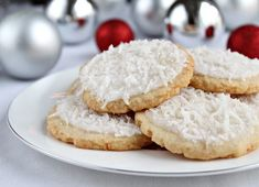 Coconut Sugar Cookies | Shauna Sever | The Next Door Baker