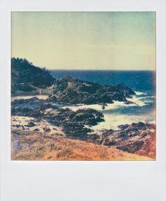 rocky beach #polaroid