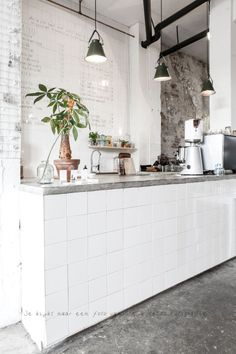 """Dutch concept store promises a home from home — with no washing up. """"Dutch concept store promises a home from home — with no washing up. Design Café, Cafe Design, Store Design, Lunch Room, Coffee Shop Design, Plywood Furniture, Kid Furniture, Furniture Design, Decorating Small Spaces"""