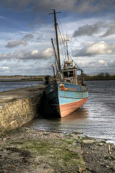 At Rest. The harbour in Killala, a small town in north west Co. Mayo, Ireland. by Marion Gal