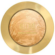 Milani Baked Bronzer, Glow - dupe for MAC mineralize skinfinish soft and gentle!