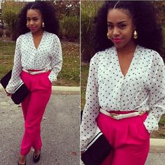 I love this outfit. Cute for Fall or Spring time. I'm really feeling the BIG HAIR!