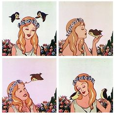 silly symphonies goddess of spring - Google Search