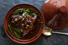 Want to know one of the secrets to getting fall off the bone lamb? Cook it in a tagine. Try this easy spring ready recipe.