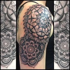Exploring Fine Examples of Dotwork Tattoos. Click on the image for more information on how to become a tattoo artist.