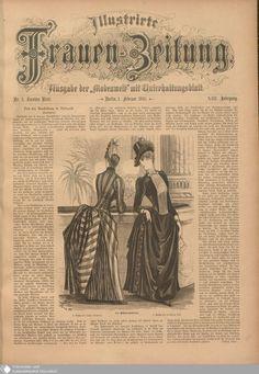 24 - Nr. 3. - Illustrierte Frauenzeitung - Seite - Digitale Sammlungen - Digitale Sammlungen