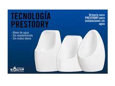 Conoce nuestros modelos PrestoDry QUARE S, PrestoDry Oval y PrestoDry Quare L en nuestro blog: http://www.prestoequip.com/actualidad/tecnologia-prestodry-instalaciones-sin-agua?c=es