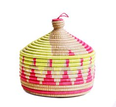 Neon Marrakech Basket – Shoppe by Amber Interiors