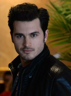 TVD - Enzo - Michael Malarkey is painfully handsome, funny & has the sexiest voice. The accent doesn't hurt either.