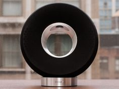 The Philips Fidelio SoundRing DS3881W is a strikingly designed wireless AirPlay speaker. $220