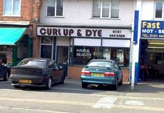 Only the most kind and caring stylists work at Curl Up & Dye hair salon. If you need to curl up and dye, this is the place for you.