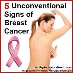 Discover the 5 Unconventional Signs of Breast Cancer health often overlooked society initiatives Cancer Fighting Foods, Cancer Cure, Cancer Facts, Breast Cancer Survivor, Breast Cancer Awareness, Health And Beauty Tips, Health Tips, Health And Wellbeing, Just In Case
