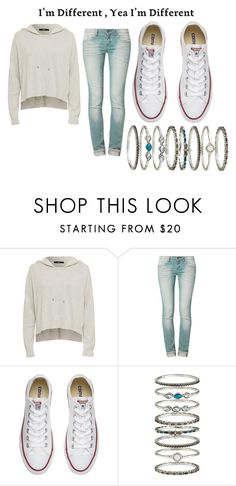 """untitled"" by bambi2014 ❤ liked on Polyvore featuring One Green Elephant, Converse and Accessorize"
