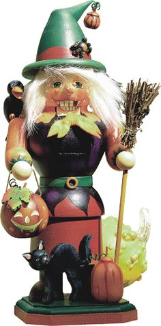 Halloween Witch Nutcracker - My favorite