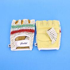 Gantoli vintage cycling gloves