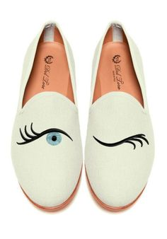 Prince Albert Bone Canvas Slipper by Del Toro Fall 2013