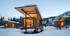 architettura ecosostenibile   Contemporary green building